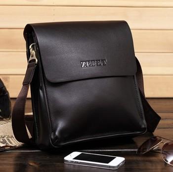 free shippingnew arrival hot sale fashion men bags, men genuine leather messenger bag, high quality man business bag MB01