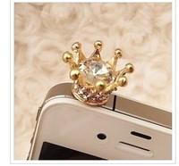 5pcs/lot 2014 hot Korean crown the dustproof  plug A4014