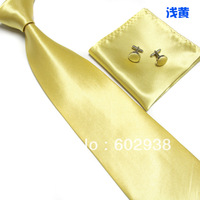 Tie & Cufflinks & Hanky Neckties Men's Ties sets 2013 Business men's tie 5set/lot