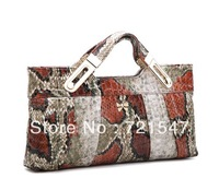 High-grade Genuine ladies leather handbag,Crocodile single shoulder bag,The new 2013,3style