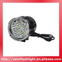6600 Lumens SKY RAY 6XT6 Bike Light