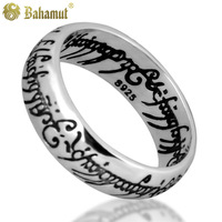 Bahamut Lord of The Rings Thai Sliver 925 Silver Vintage Ring Jewelry Free With One Chain - Free Shipping Wholesale