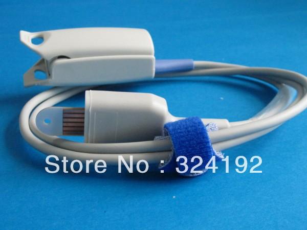 reusable spo2 probe,medical cable with1year,free shipping,Masimo adult spo2 sensor(China (Mainland))