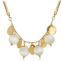 K082 accessories - eye decoration necklace female long necklace