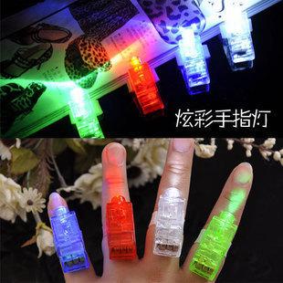2013 hot sale!Niceglow finger light beam ring laser light/colorful led finger light halloween