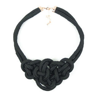 Emperorship handmade line necklace black(China (Mainland))