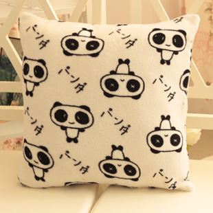 2 plush toy doll giant panda big cushion pillow birthday present for girlfriend gifts unpick and wash(China (Mainland))