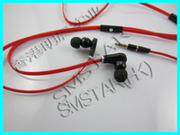 High qualiy earphone  with mic In-Ear popular Headphone with control talk in carry case Earphone for cellphone  free shipping