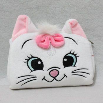 Sweet cat child messenger bag plush coin purse cartoon bag child bags birthday gift