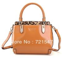 The new 2013 Famous brand Fashion women Genuine Leather Handbag,Single shoulder bag