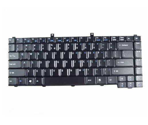 Original New Laptop Keyboard for Acer Aspire 5030 5100 5110 5160 Black P/N: PK130020800 shipping Wholesale(China (Mainland))