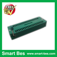 Smart Bes!Free Shipping  5pcs/lot smart bes Universal 40P 40Pin ZIF ZIP DIP IC Test Socket electronic components