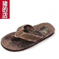 2013 male summer 4546 plus size flip flops shoes sandals clip slippers