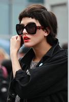2013 new Designer  Black Red Butterfly sunglasses MJ456/s women Brand sunglasses