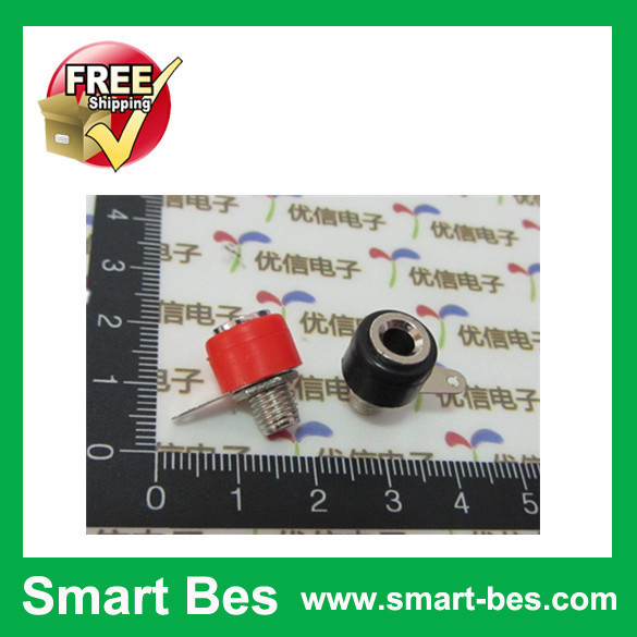 500pcs/lot Smart Bes Free Shipping 4mm banana jack Binding post electronic components(China (Mainland))