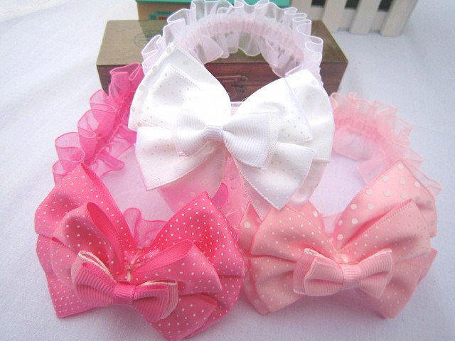 bowknot elastic headbands.baby.kids.baby infant babies flower headband.Hair ribbon band.Hair Accessories.Creative cute Antique l(China (Mainland))