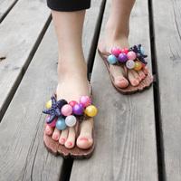 free shipping   Personality grape slippers cool summer herringbone slippers