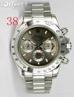 Luxury waterproof Automatic watch Simple Fashions wrist watch mens steel quartz business watch M+#10