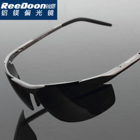 Aluminum magnesium box male polarized sunglasses male sunglasses male sunglasses sun glasses