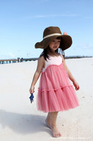 Free shipping 2013 Wholesale hot sell the girls ball dress 4T-9Age 1 lot =5pcs