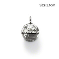 New! Wholesale Free shipping 925 sterling silver / beautiful charm / silver pendant charm TS 278