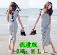 Summer ultra long one-piece dress bohemia dresses full dress beach dress