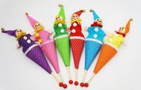 Baby Classic clown parent-child retractable stick Novelty & Gag Toys educational toys nostalgic classic Infant Toys
