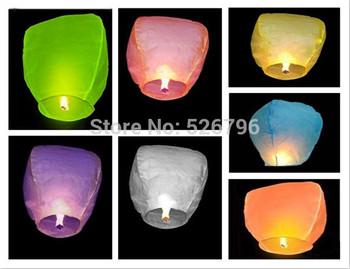 Free shipping 25pcs/lot Sky Lanterns,Wishing Lantern fire balloon Chinese Kongming lantern Wishing Lamp for wedding