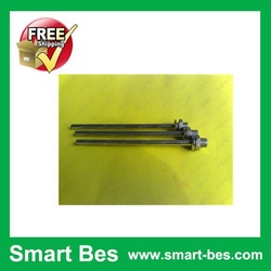 Free shipping by SGP post 100pcs/lot Smart Bes (stainless steel tube) 6* 135 mm Special for sensor ,Probe,Thermal head(China (Mainland))