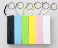 Perfume Power Bank 2600mah Mini Backup External Battery Pack Emergency Charger for iPhone 5 Galaxy S3 i9300 with Key Ring