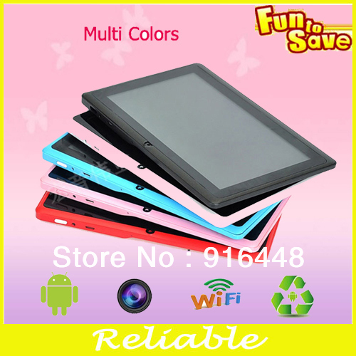 Wholesale best quality and competitive price for 7inch android4.1 os dual core q88 wifi mid tablet pc(China (Mainland))