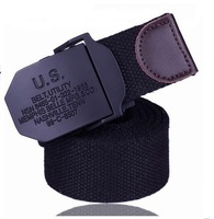 Strap male fashion canvas belt all-match casual pants belt Men ultra long lengthen cloth bt37