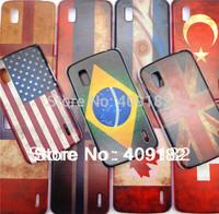 Vintage Retro UVcoating National Flag Case Cover For Google Nexus 4 LG E960
