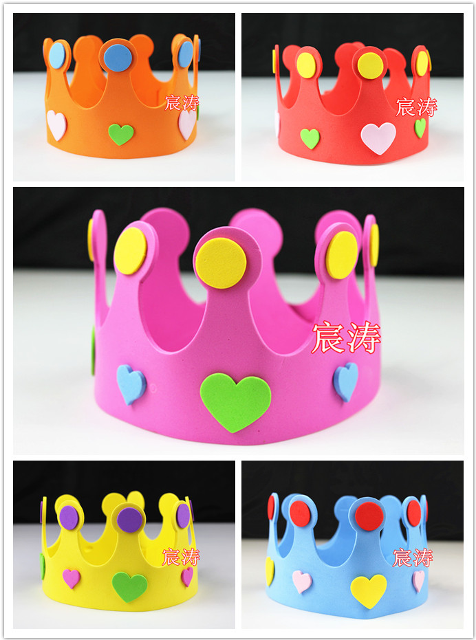 2013 new 10g birthday hat child performance props hat birthday hair accessory birthday party supplies hair accessory(China (Mainland))