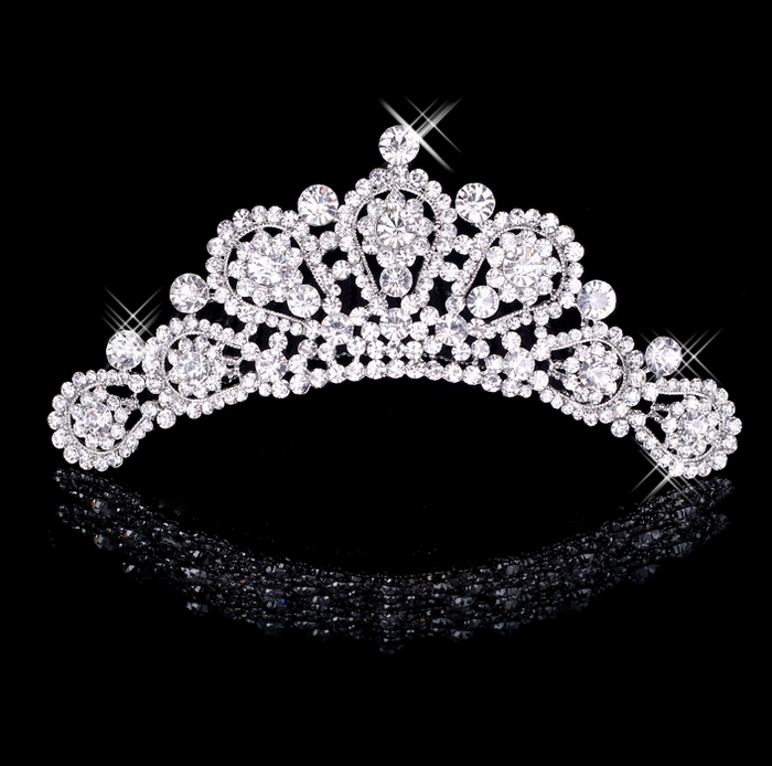 Bridal hair accessory hair stick hair accessory rhinestone big accessories hg07(China (Mainland))
