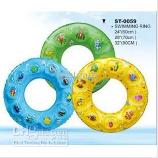EMS freeshipping for Austrilian,50pcs,Kids swimming ring,baby swim ring,4 sizes:60-90cm.swim ring