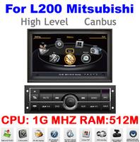 S100 Car DVD For L200 High Level Mitsubishi Auto Multimedia 1080P Wifi Ipod 1G CPU 3G HD DVR Audio Video Player Free Map DHL EMS