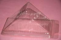 free shipping, Disposable sandwich cake  West  plastic transparent cake box 100 pieces/lot
