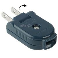 US Plug AC Wall Universal Travel Power Socket Plug Adaptor, Support 90 Degree Rotation