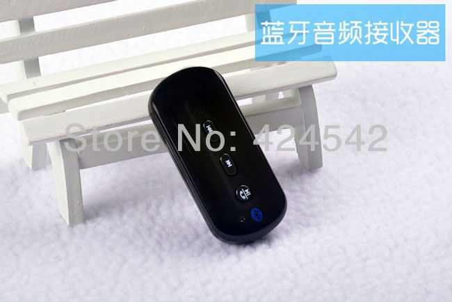 Promotion Portable Bluetooth v3.0 Stereo Audio Adapter Answer call Stereo Easy to get Bluetooth speaker Bluetooth headphone(China (Mainland))