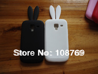 For Samsung Galaxy Ace 2 I8160 Rabbit silicone cartoon case,with high quality 1pcs/lot