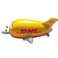 Free shipping Wholesale full capacity Genuine 4GB 8GB 16GB 32GB airplane shape USB2.0 Memory Stick Flash Pen Drive, Q5189