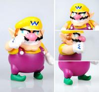 "Nintendo Super Mario Wario 5"" PVC Figure Collection New"