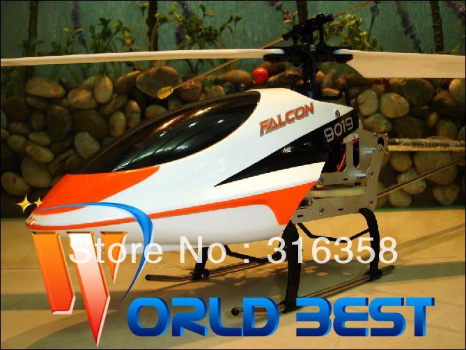 Free shipping QS 9019 27 Inch 2.4G 4Ch Single Rotor Helicopter Four Pure Metals RC Helicopter Radio Remote Control Toys RTF(China (Mainland))