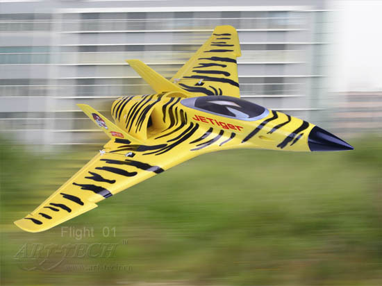 Jet fixed wing tiger remote control plane, model aircraft, powerful and fast speed(China (Mainland))