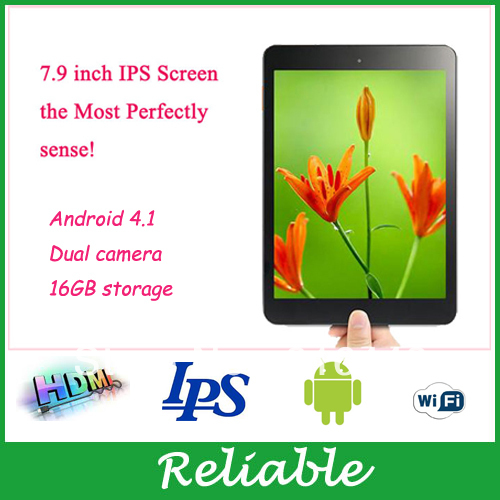 7.9 inch Google Android 4.1 Tablet Computer AllWinner A31 Dual Camera MID 1GB ram WIFI External 3G(China (Mainland))