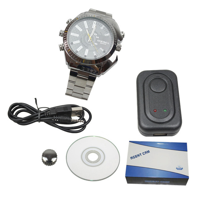 4GB 8GB 32GB 1080P High Resolution Waterproof Watch DVR IR Night Vision HD Hidden Camera Elegant Wrist Sport DVR(China (Mainland))
