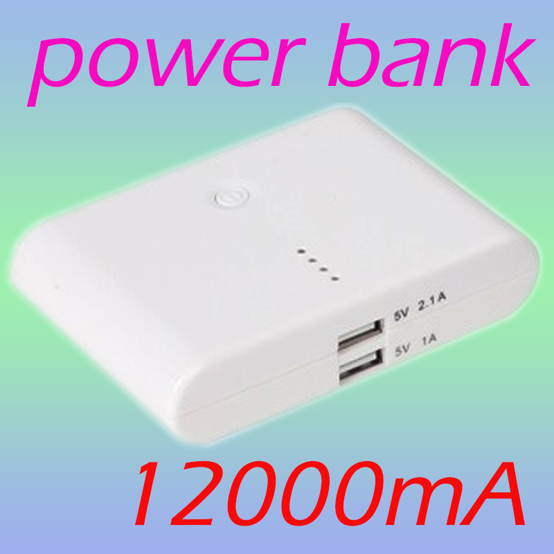 12000mah Power Bank for mobile phones,iPhone4/3,iPad,cameras,PSP/NDSL,MP3/MP4 players(China (Mainland))