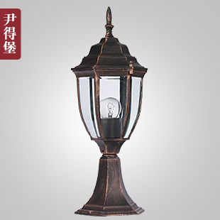 New product Column head wall light outdoor lighting garden lights wall light column pillar lamp made in china Free shipping(China (Mainland))