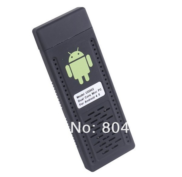 free shipping Android 4.1 Mini PC TV Stick Rockchip RK3066 1.6GHz Cortex A9 Dual core 1GB RAM 8GB cable box free channels(China (Mainland))